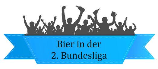 Stadionbier in der 2. Bundesliga – Saison 2016/17