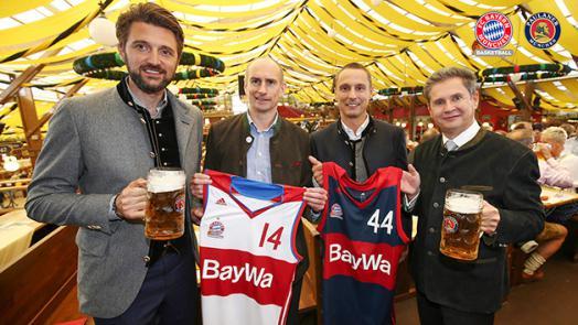 Paulaner ist neuer Partner des FC Bayern Basketball