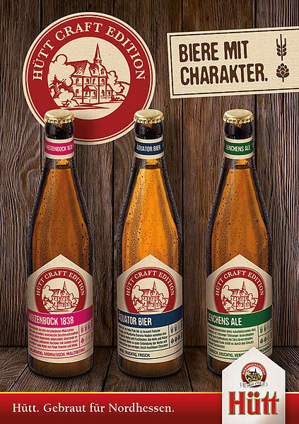 Hütt-Brauerei stellt Craft-Biere vor