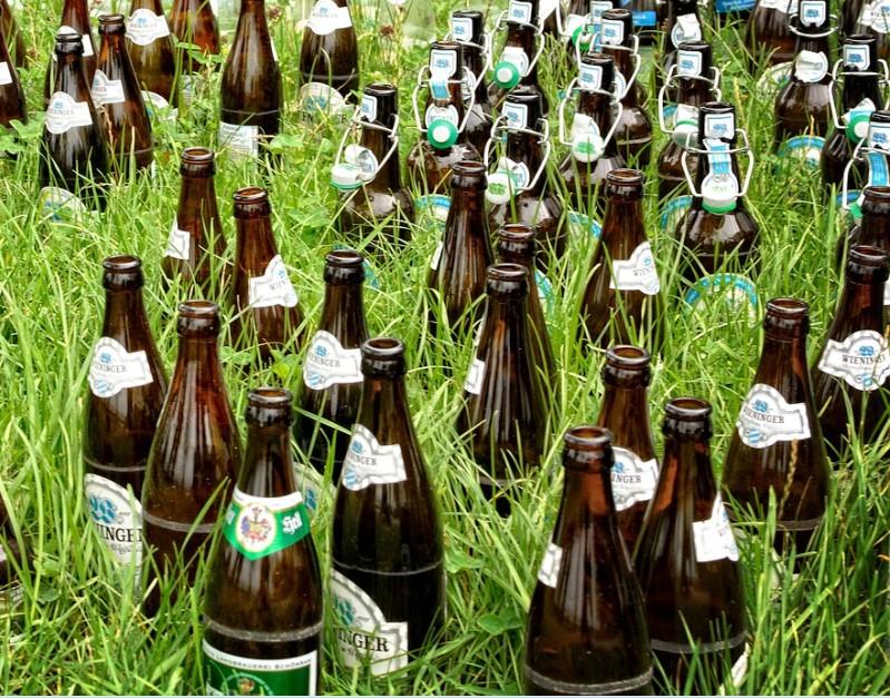 Das Bier im Stadion der 3. Liga