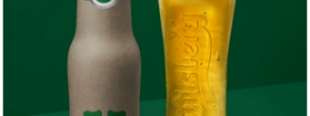 Carlsberg stellt neue grüne Gewebe-Flasche vor