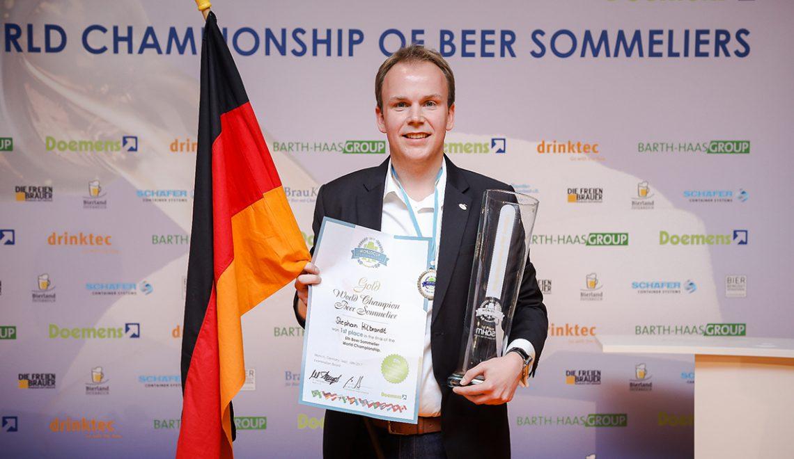 Weltmeister der Biersommeliers